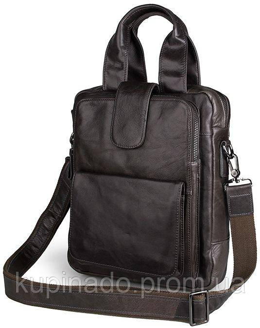 Сумка мужская Vintage 14297 Серая, Серый