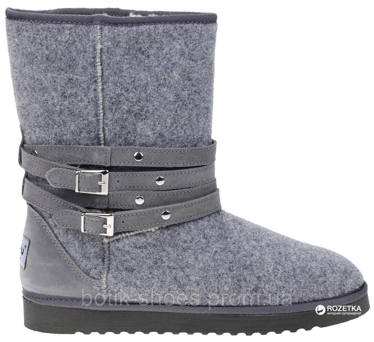 38b4e1977be Inblu EY55LP фетровые угги женские зимние - интернет магазин обуви Ботик