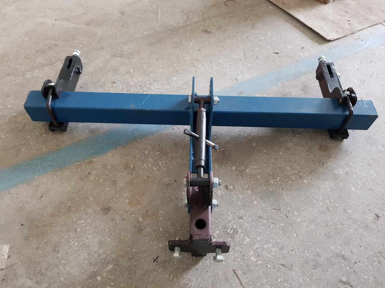 Сцепное устройство (сцепка двойная производство AGROMARKA)