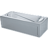 Ванна акриловая  (панель,крест,ноги) SunLight 4040 (1700х800х390)