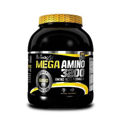 Аминокислота BioTech Mega Amino 3200 (300 tabs)