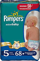 Подгузники Pampers Active Baby 5 Junior (11-25 кг) 68 шт.