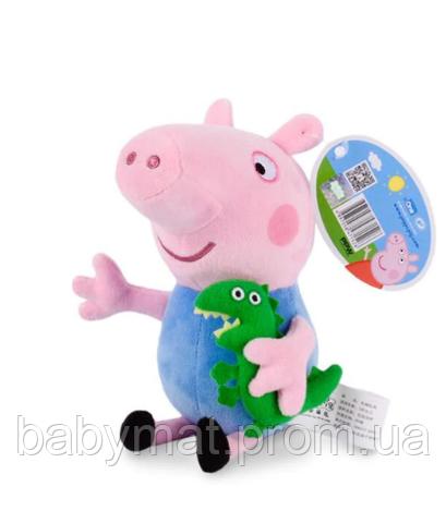 Свинка братик Джордж 45 см