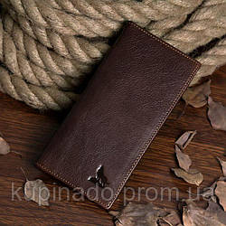 Купюрник мужской Vintage 14127 Коричневый, Коричневый