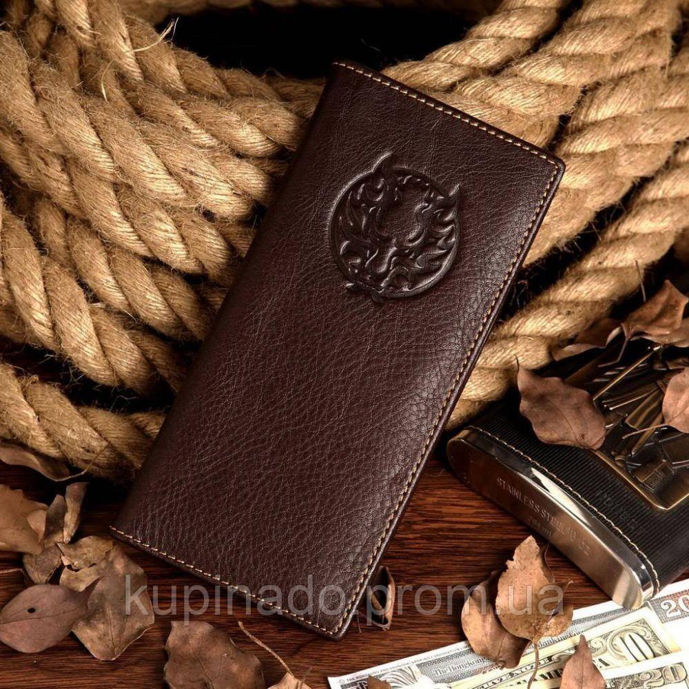 Бумажник мужской Vintage 14174 Коричневый, Коричневый