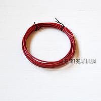 Запасной кабель для скоростной скакалки (красный, 305 см.)