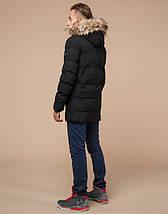 Подросток 13-17 лет    Куртка зимняя Braggart Teenager 25230 черная, фото 3