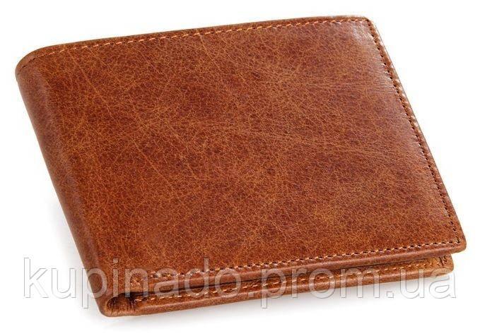 Кошелек мужской Vintage 14229 Коричневый, Коричневый