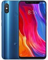 "Смартфон Xiaomi Mi 8 6/128Gb Blue Global, 12+12/20Мп, Snapdragon 845, 6.21"" AMOLED, Android 8.1, 3400mAh, GPS"
