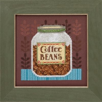 Набор для вышивки Mill Hill Coffee Server Кофейные зерна