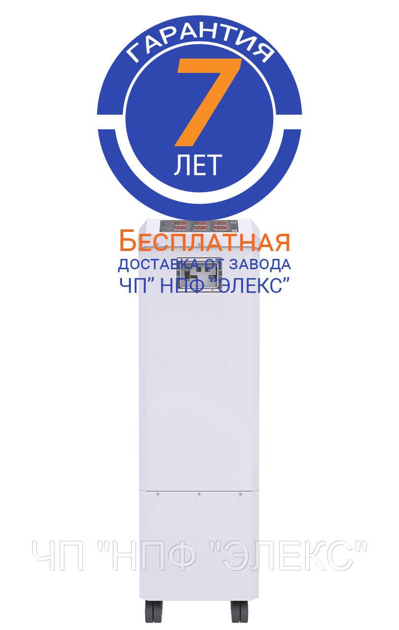 Стабилизатор напряжения трехфазный ГЕРЦ 16-3*100А v3.0 (66 кВА/кВт), 16 - ступенчатый, тиристорный