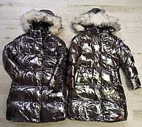 Курточка на меху для девочек Glo-Story оптом, 110-160 рр., фото 1