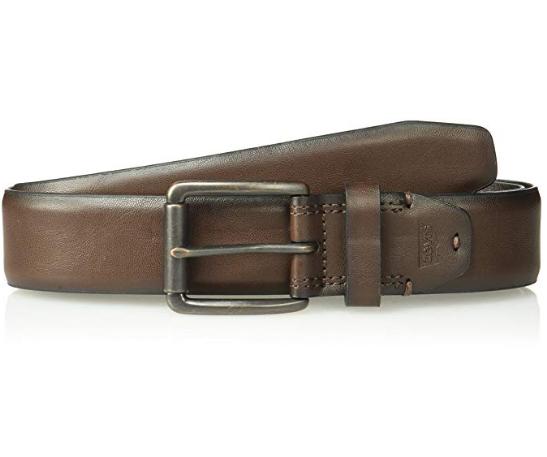 Ремень Levi's® Men's Casual Jean Belt with Roller Buckle - Brown Roller