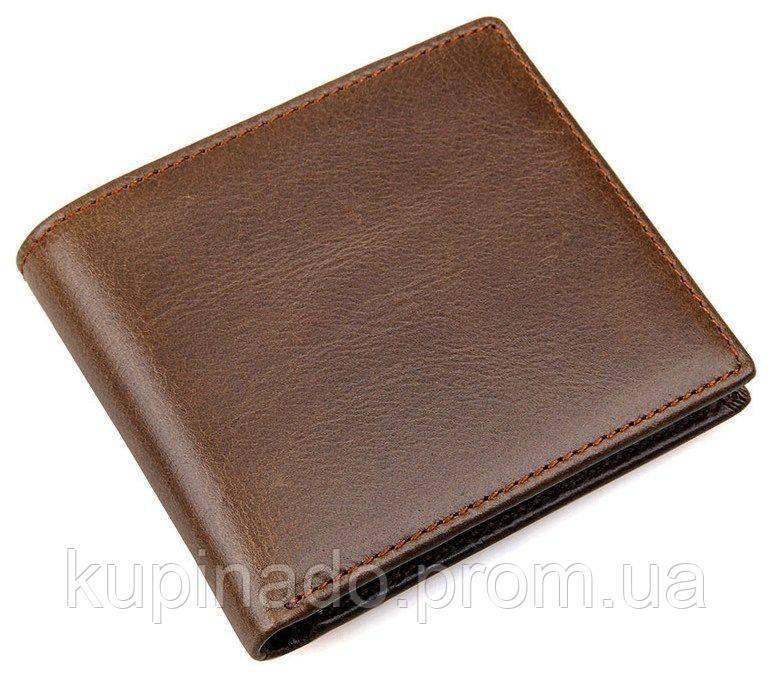 Кошелек мужской Vintage 14428 Коричневый, Коричневый