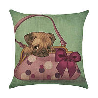Подушка декоративная Puppy in the Handbag, фото 1