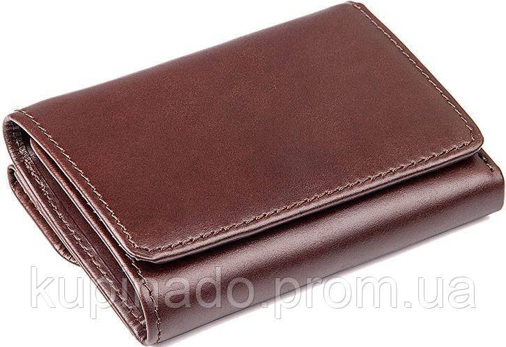 Кошелек Vintage 14469 кожаный Коричневый, Коричневый