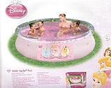 Басейн з надувним бортом BestWay 91052 Fast Set, серія Disney Princess, 244 х 66 див. київ, фото 2