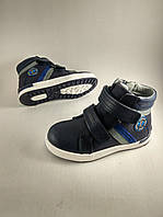Стильные демисезонные ботинки для мальчиков Bi&Ki 28р. по стельке 18,0 см