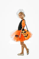 Ведьмочка карнавальный костюм для девочки \ размер 110-116; 122-128 \ BL - ДС200