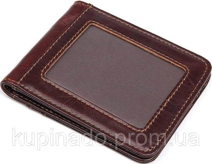 Зажим для купюр Vintage14513 Коричневый, Коричневый