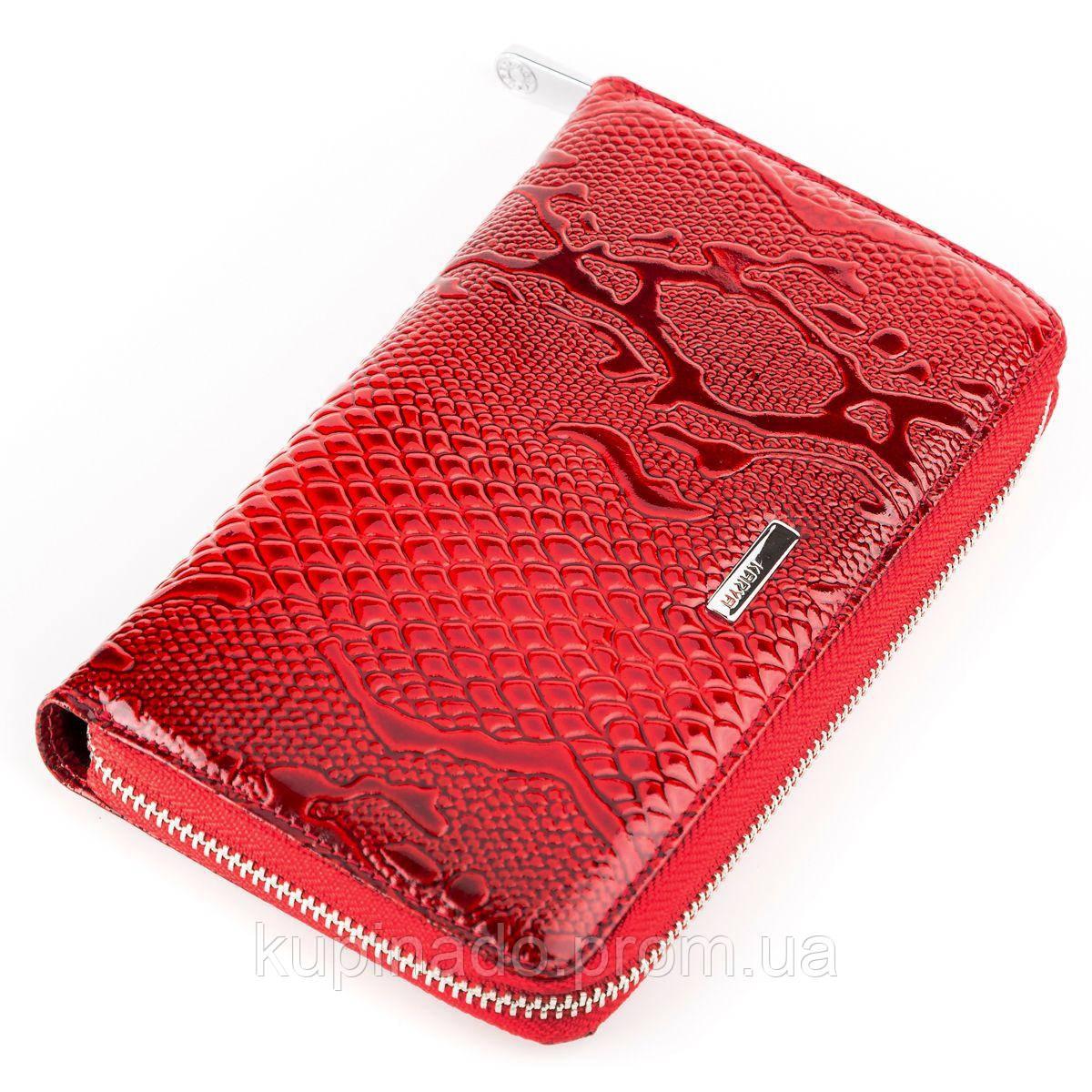 Кошелек женский KARYA 17003 кожаный Красный, Красный