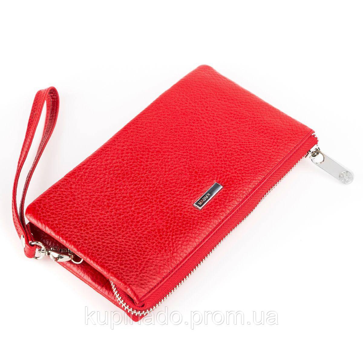 Кошелек женский KARYA 17007 кожаный Красный, Красный