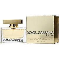 Духи Dolce&Gabbana The One 75ml Туалетная вода Дольче Габбана Зе Ван 75 мл реплика