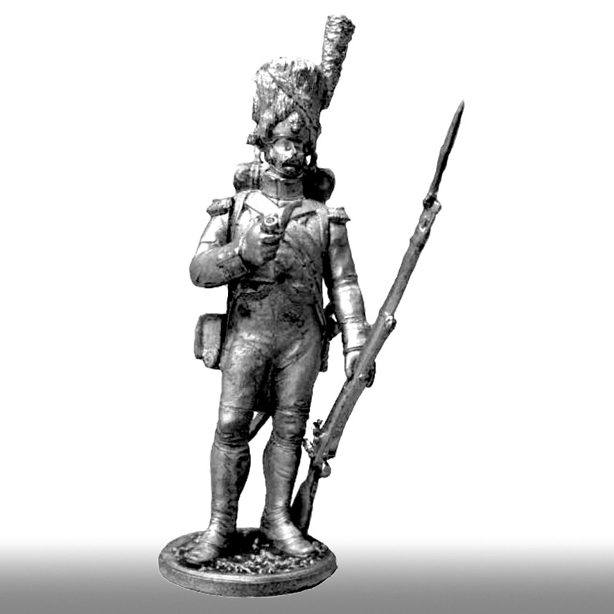 Рядовой гренадерского полка