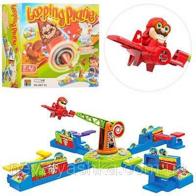 Настольная игра на реакцию Петляющий Луи на самолете Looping Loui Plane 007-51, 009324