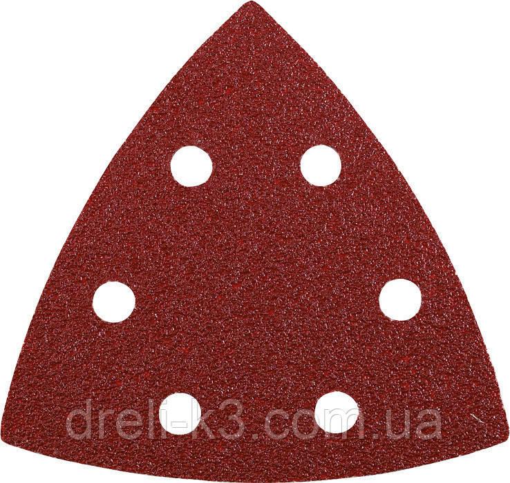 Листы шлифовальные треугольные K400 KWB