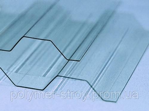 Профилированный поликарбонат 1.05х4метра BORREX Прозрачный