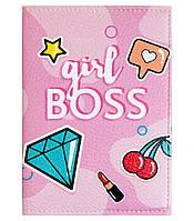 """Обложка для паспорта """"Girl BOSS"""""""