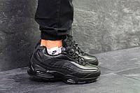 Кроссовки мужские Nike Air Max 95, артикул: 6348 Черные