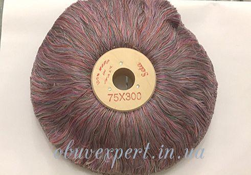 Щетка полировочная шелковая Colored Silk 75*300