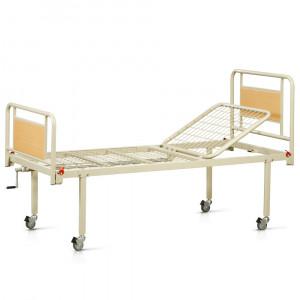 Кровать функциональная двухсекционная на колесах