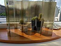 Полікарбонат SUNTUF Greca76 Bronze 35% LT Embossed колотий лід 1060x6000 мм, фото 1