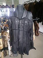 Жакет из кожи женский пиджак из натуральной кожи, фото 1