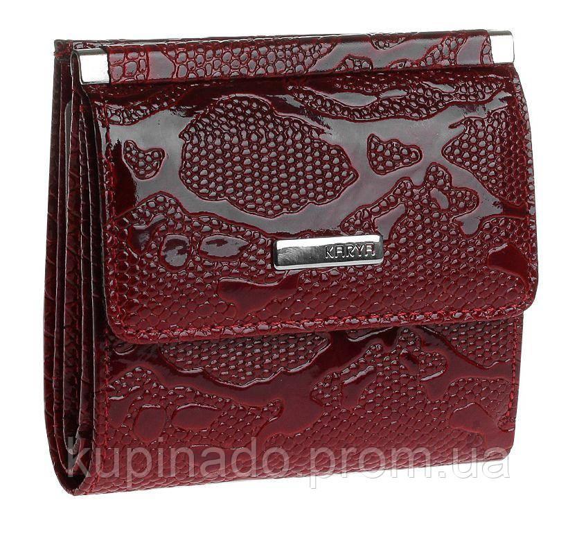 Кошелек женский KARYA 17180 кожаный Красный, Красный