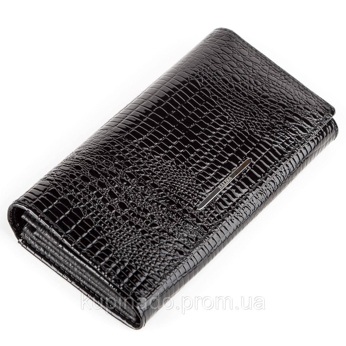 Кошелек женский BALISA 13851 кожаный Черный, Черный
