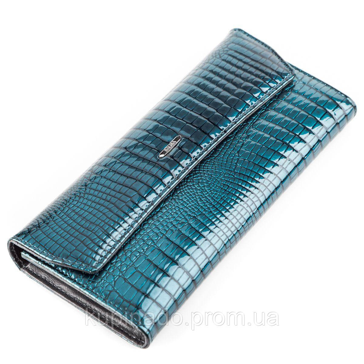 Кошелек женский BALISA 13859 кожаный Синий, Синий