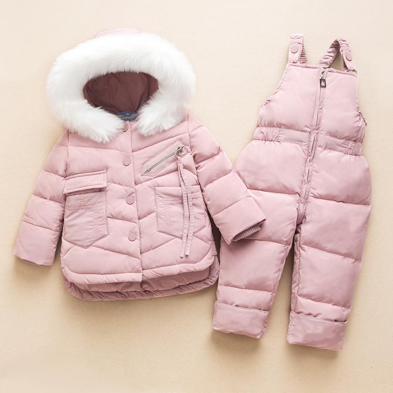 Детский комбинезон, розовый.