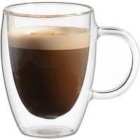 Чашка с двойными стенками  капучино 350мл
