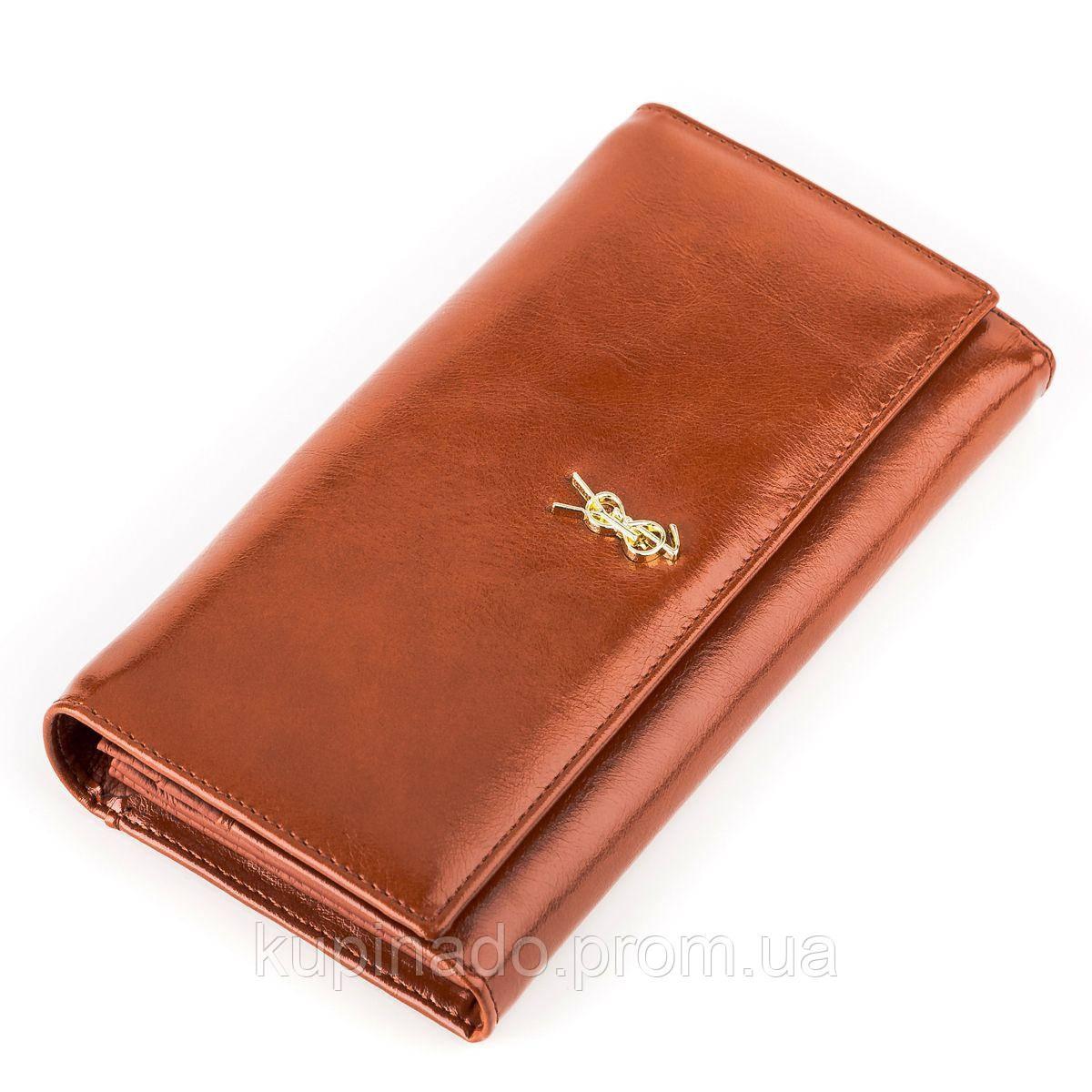 Кошелек женский BALISA 13865 кожаный Коричневый, Коричневый