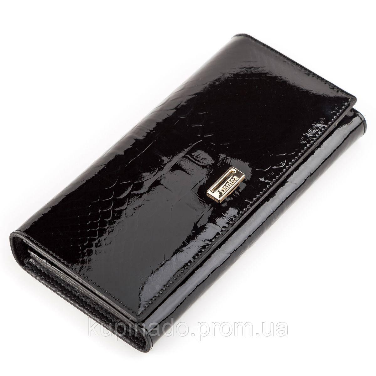 Кошелек женский DANICA 13867 кожаный Черный, Черный
