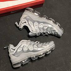 "Женские кроссовки в стиле Nike Air Vapormax Plus ""Silver"", фото 2"