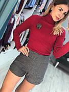 Женские шорты на осень с высокой посадкой