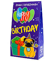 "Печенье с предсказаниями в коробке ""Happy Birthday"""