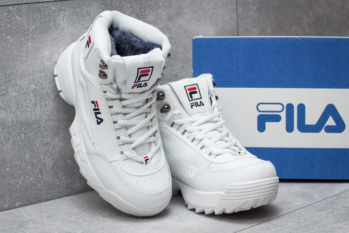 ... ( Зимние ботинки на меху ▻ Fila Disruptor 2 High 3784088ca050c