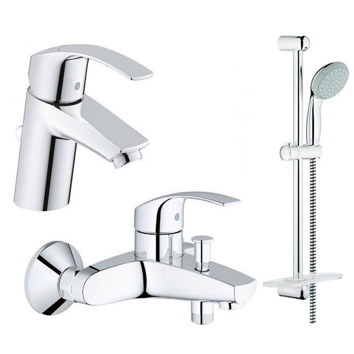 Grohe EuroSmart Набор смесителей для ванны арт.123238S