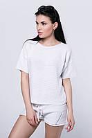 SEWEL Джемпер JS435 (46-48, ярко-белый, 50% хлопок/ 50% акрил)